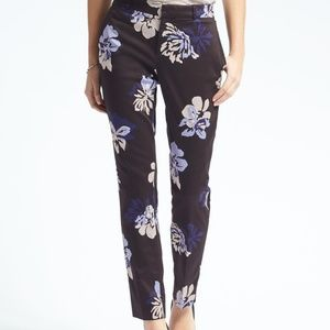 Banana Republic Ryan Fit Floral Pants. Size 8
